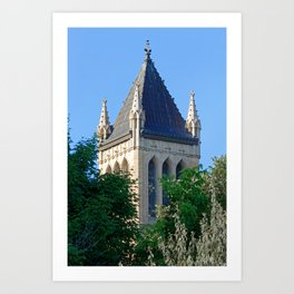 Iowa State University Campanile Close Up Art Print