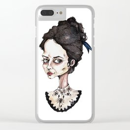 Vanessa Ives in Pennt Dreadful Clear iPhone Case