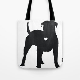 My American Bulldog Heart Belongs To You Tote Bag