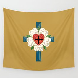 Luther's Rose Wall Tapestry