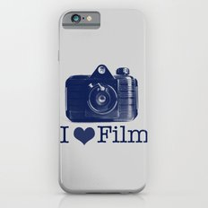 I ♥ Film (Grey/Navy) iPhone 6s Slim Case