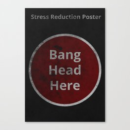Stress Reduction Canvas Print