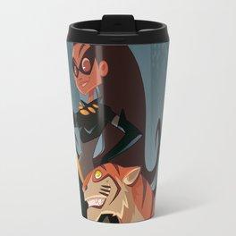 Eartha Kitt aka Catwoman Travel Mug