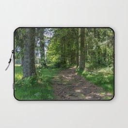 Hiking Trail - Landscape Photography Laptop Sleeve