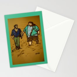 out the hatch Stationery Cards