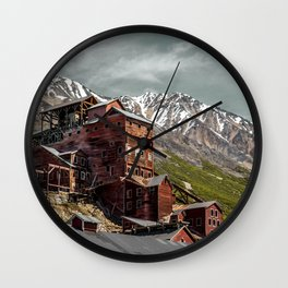 Nature and industry Wall Clock