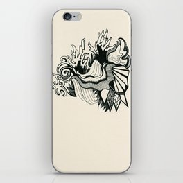 Psychedelic Coral iPhone Skin