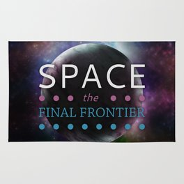 Space: The Final Frontier Rug