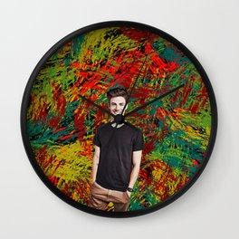 Grant Gustin - Celebrity Art Wall Clock