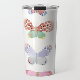 Painted butterflies Travel Mug