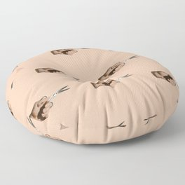 Pattern Cut Floor Pillow