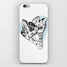 Kitten Love iPhone & iPod Skin