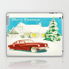 Vintage Christmas Tucker 48' Vintage Car Laptop & iPad Skin