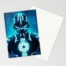 Tron Vader Blue Stationery Cards