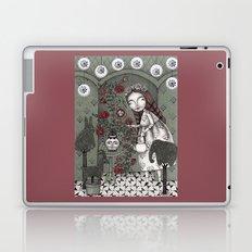 When it Snows Outside (My Secret Garden) Laptop & iPad Skin