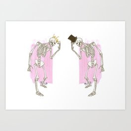 Prince and the Pauper Art Print
