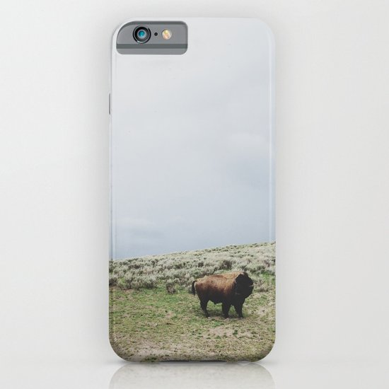 Hillside Bison iPhone & iPod Case
