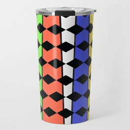 Diamonds and rainbows Travel Mug
