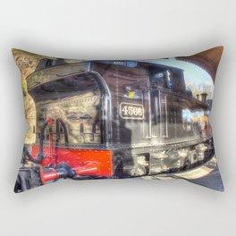Steam Train No.4566 at Bewdley Rectangular Pillow