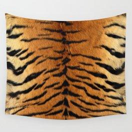 Faux Siberian Tiger Skin Design Wall Tapestry