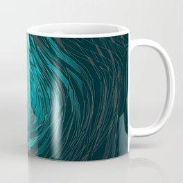 Complex Spiral-Aqua Coffee Mug