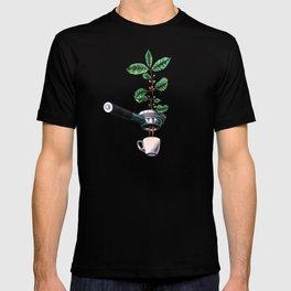 Coffee Plant Design Espresso Barista T-shirt