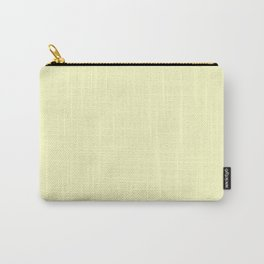 Simply Pale Yellow Carry-All Pouch