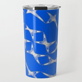Dancing stars-blue Travel Mug