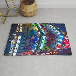 Tokyo 1 by whacky Rug