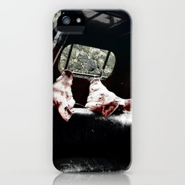 PIGHEAD HORROR TRICYCLE iPhone Case