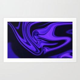 Purple Feelings Art Print