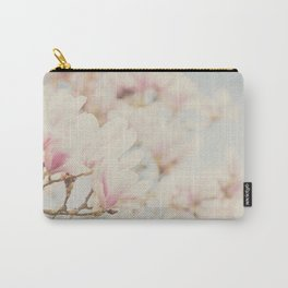 pink magnolia blossoms ... Carry-All Pouch