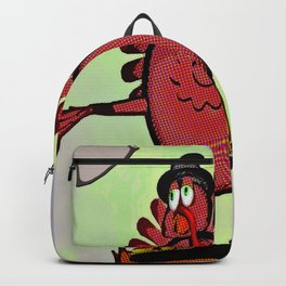 Turkey Talking Backpack