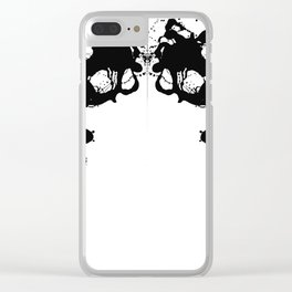 UNTITLED 2 (2017) Clear iPhone Case
