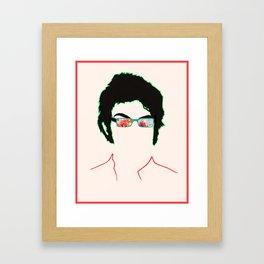 Jemaine Framed Art Print
