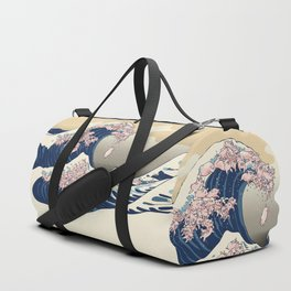 The Great Wave of Pigs Duffle Bag
