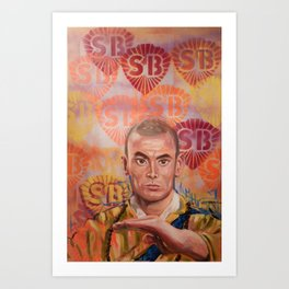 Stop Biting pt.1 Art Print
