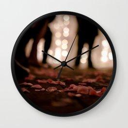 Rosie Wedding Wall Clock