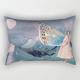 Becoming (A Butterfly) Rectangular Pillow