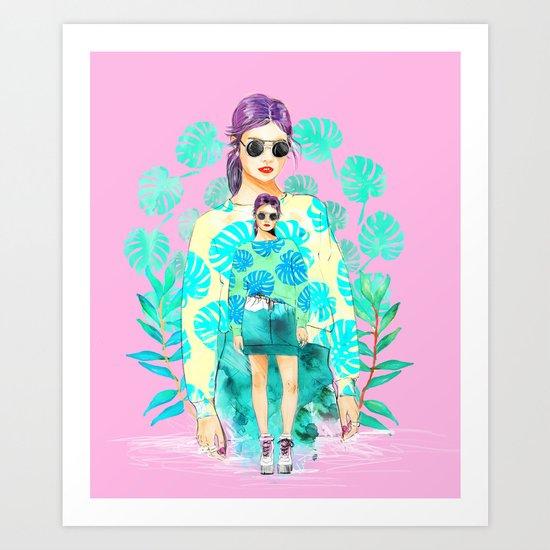 Monstera Deliciosa Art Print