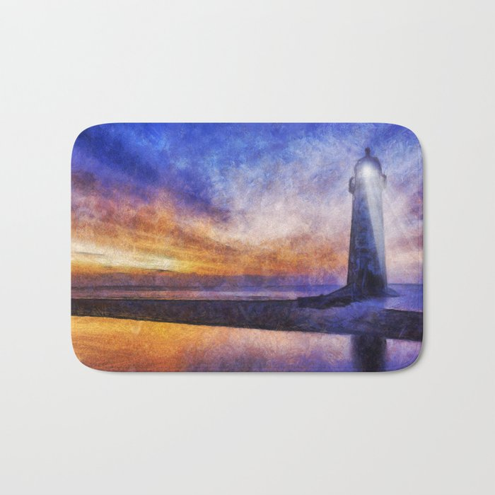 surprising Lighthouse Bath Mats Part - 9: Talacre Lighthouse Bath Mat