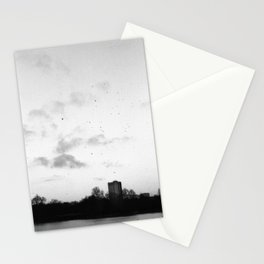 dark days at hyde park, london Stationery Cards