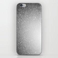 Galaxy Stars Ombre : Black Slate Gray iPhone & iPod Skin