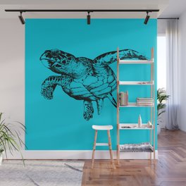 Sea Turtle Wall Mural