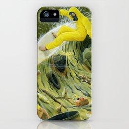 Coastal Pollution iPhone Case