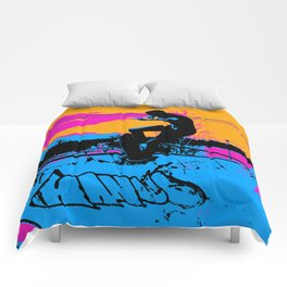 On Edge - Skateboarder Comforters
