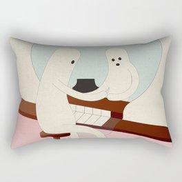 r i f l e s s o c o n d i z i o n a t o Rectangular Pillow
