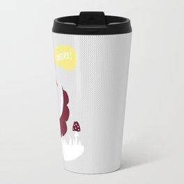 party animals - english fox Travel Mug