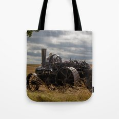 Steam Traction Engine Tote Bag