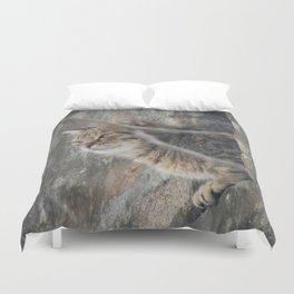 Cat view Duvet Cover